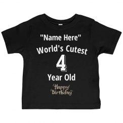 Cutest 4 year old