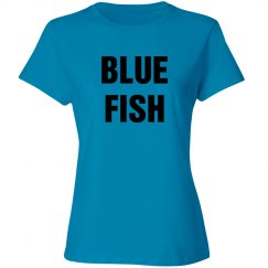 Group Rhyme Costume Blue Fish