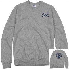 Customize hockey sweatshirt