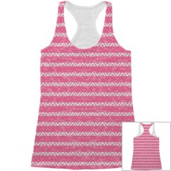 Trendy All Over Print Tank Top
