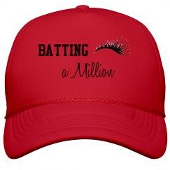"""""""Batting a Million"""" Lash Hat"""