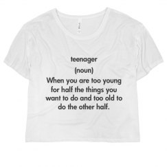 Definition of Teenager