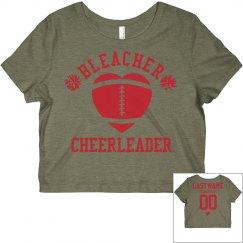 Football Bleacher Cheer Girl