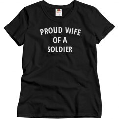 Proud soldiers wife