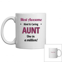 Most awesome aunt