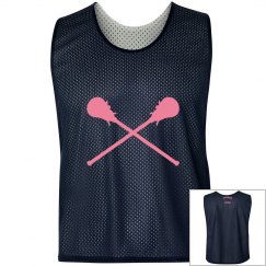 Basic Navy Lax Pinnie