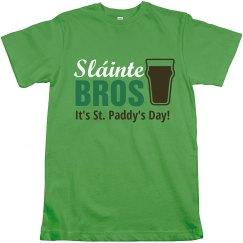 Sláinte, it's St. Paddy's