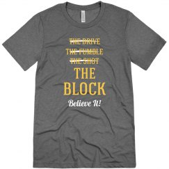 Cleveland Win Wine & Gold Block