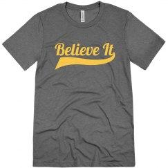 Cleveland Wine & Gold Believe It
