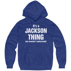 It's a Jackson thing