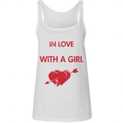 In Love With A Girl Tank Top