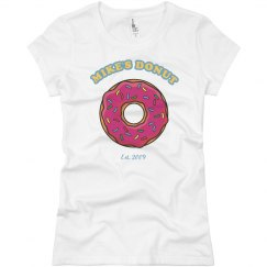 Hot Dog/Donut Couples Tee