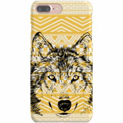 Aztec Wolf iPhone Case