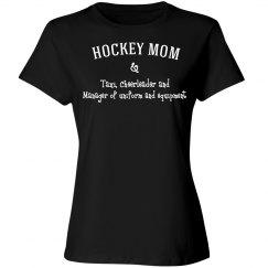 Many hats hockey moms