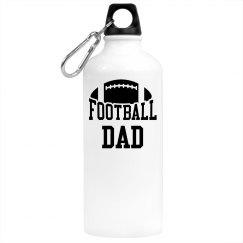 Football Dad Beverage  Bottle