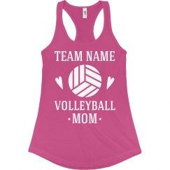 Volleyball Custom Mom Tank