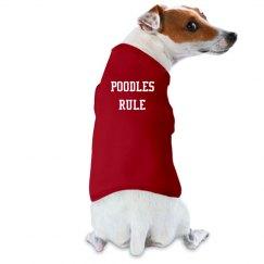 Poodles Rule - T-shirt.2