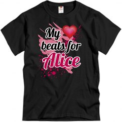 My heart beats for Alice
