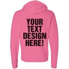 Custom Text Design