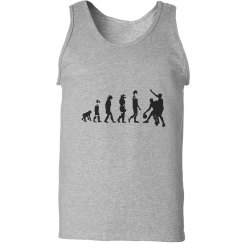 Evolution of Man Basketball Tee