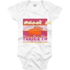 Sweet as Pie Onesie