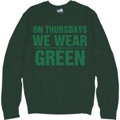 Thursdays Green
