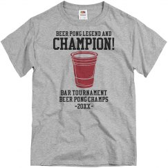 Beer Pong Champ