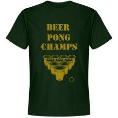 beer pong champs tee