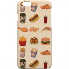 Fast food iPhone 6 case