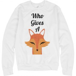 Who Gives a Fox Anyway