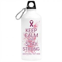 Keep Calm Pink Water