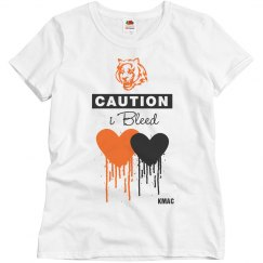 Bleed orange/black