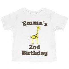 Emma's 2nd birthday