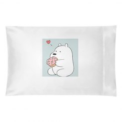Ice bear pillow