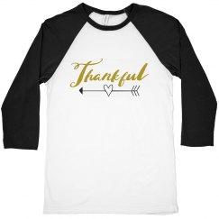 Gold Thankful This Thanksgiving