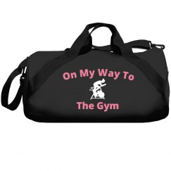 On my way to the gym