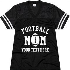 Football Mom Custom Name