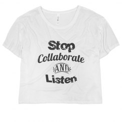 Stop collaborate & listen
