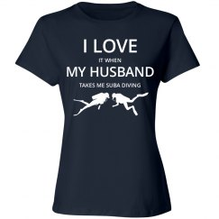 Love husband love suba diving