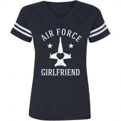 Rhinestone Air Force Girlfriend