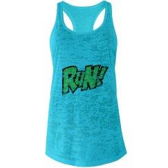 Run! Workout tank