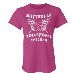 Volleyball Butterfly Tee