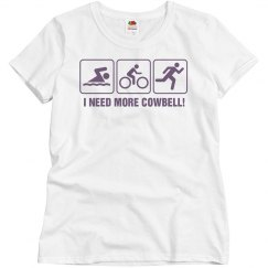 Triathlon Cowbell