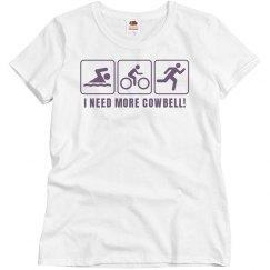 Triathlon Cowbell
