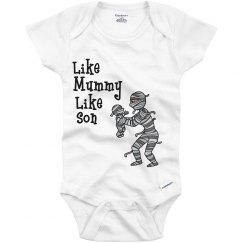 like mummy like son