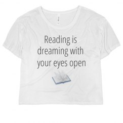 Graphic tee for readers