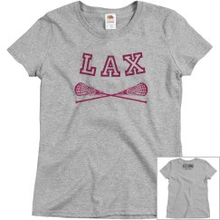 Gray LAX T-Shirt
