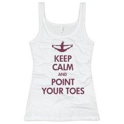 Keep Calm Cheerleading
