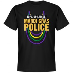 Mardi Gras Police Officer