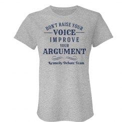 Improve Your Argument